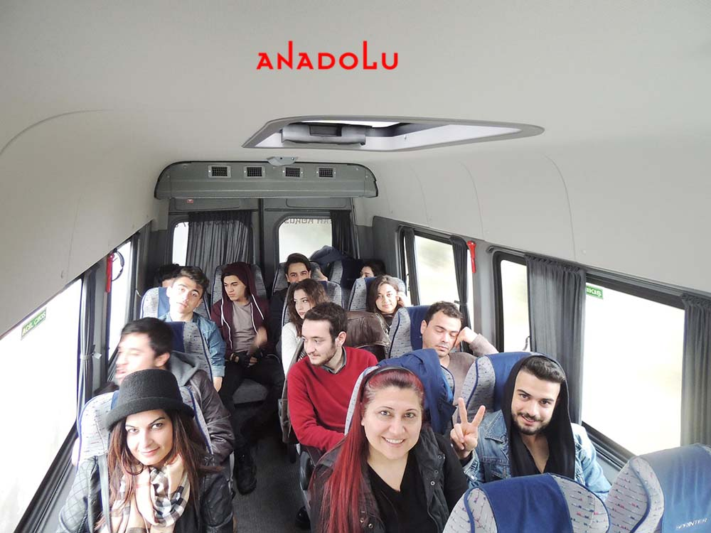 Anadolu Güzel Sanatlar Öğrencileri İle Sınavlara Gitme Ankara