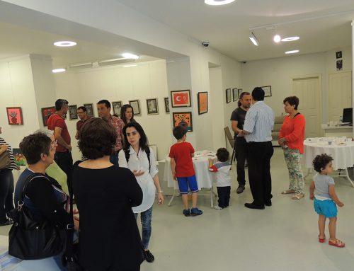 Ankaradaki GSAM Resim Sergi Çalışması