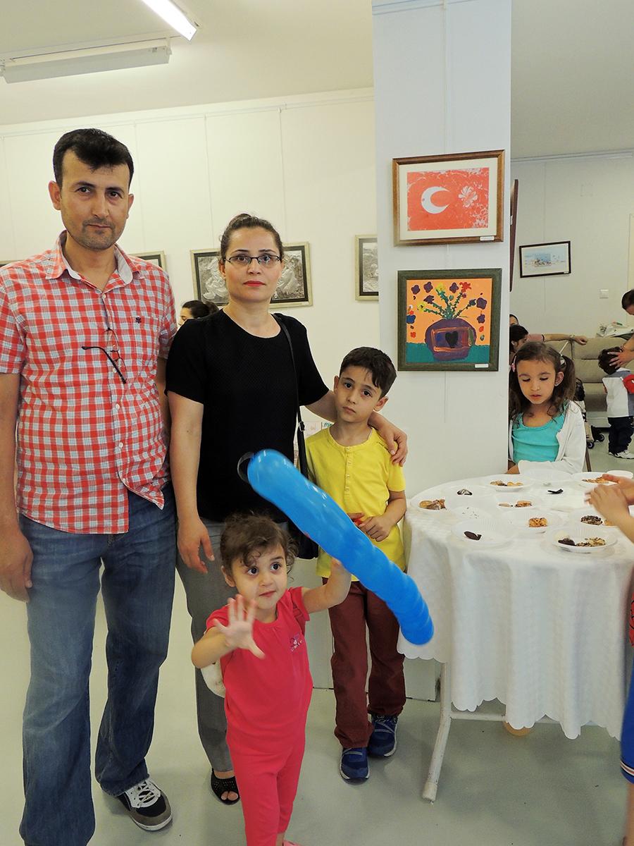 Çocukların Düzenlediği Sanat Sergileri Ankara