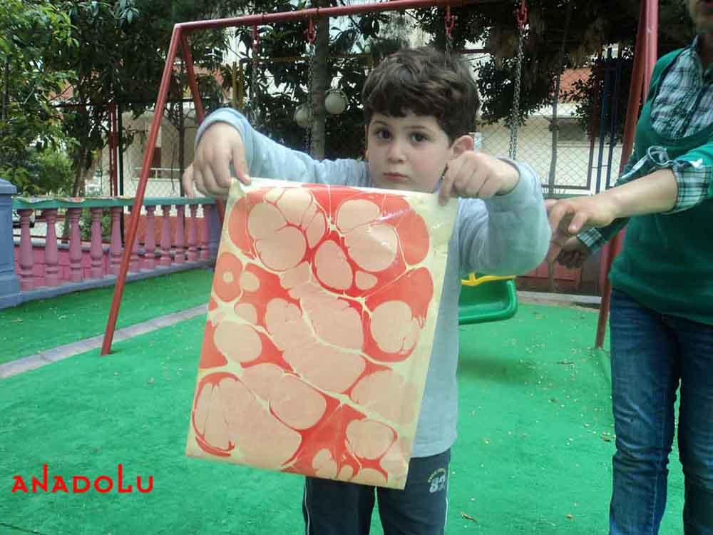 Çocuklara Yönelik Ebru Eğitimleri Ankara