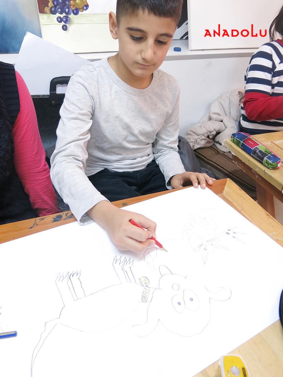 Çocuklar İçin Karakalem Eğitimleri Ankara