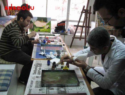 Ankaradaki Ebru Kurslarında Yetenek Kursları
