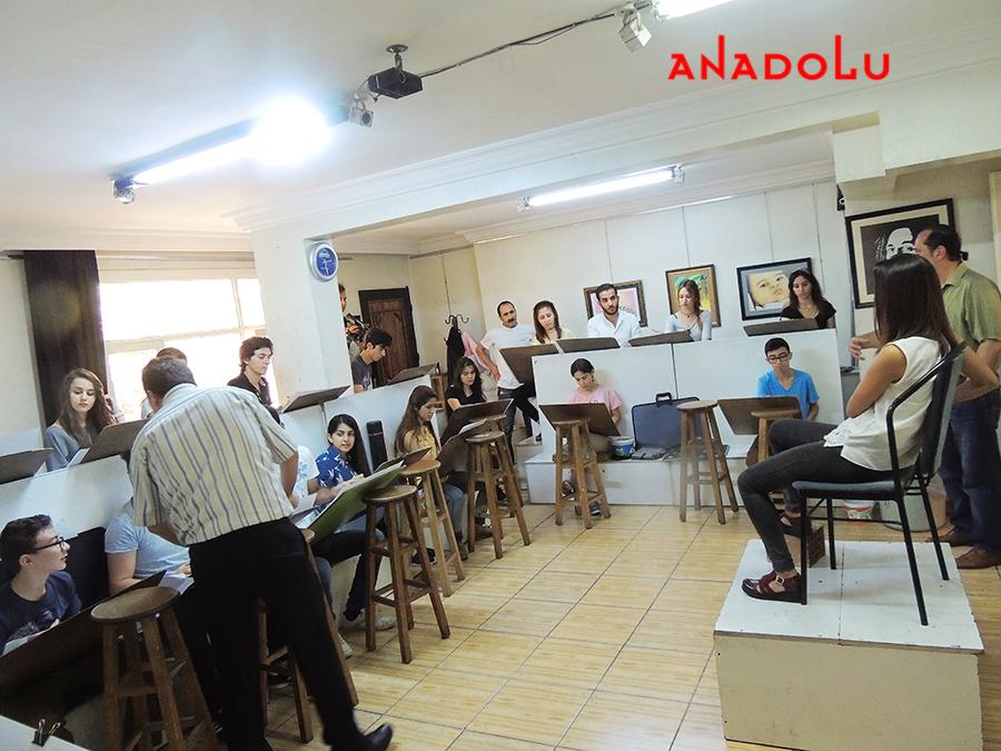 Ankarada Güzel Sanatlara Fakülteleri Hazırlık Sınıfları