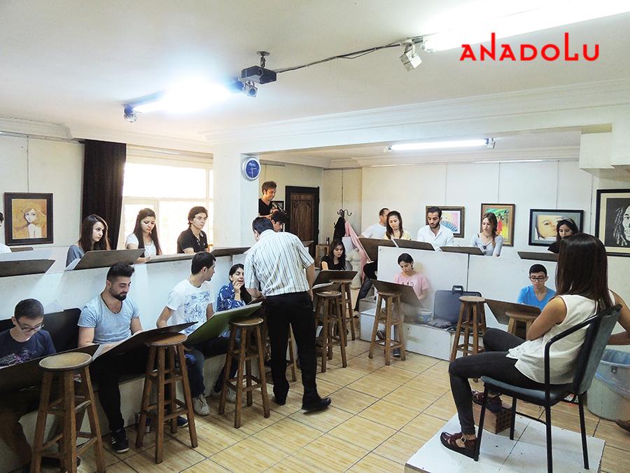 Ankara Güzel Sanatlara Fakülteleri Hazırlık Sınıfları