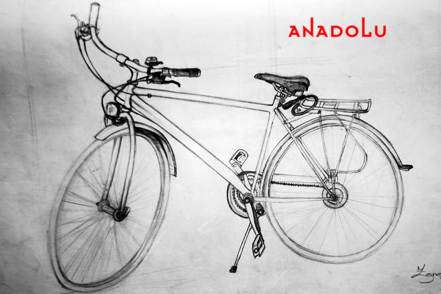Bisiklet Çizim Örneği Ankara