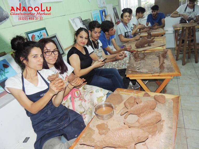 Heykel Dersleri Hobi Grupları Ankara