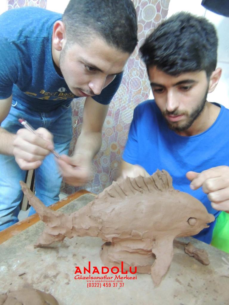 Kilden Balık Modelleme Dersi Ankara