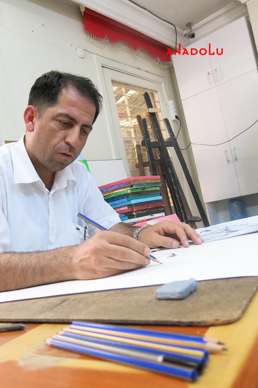 Karakalem Çalışması Hobi Grubu Ankara