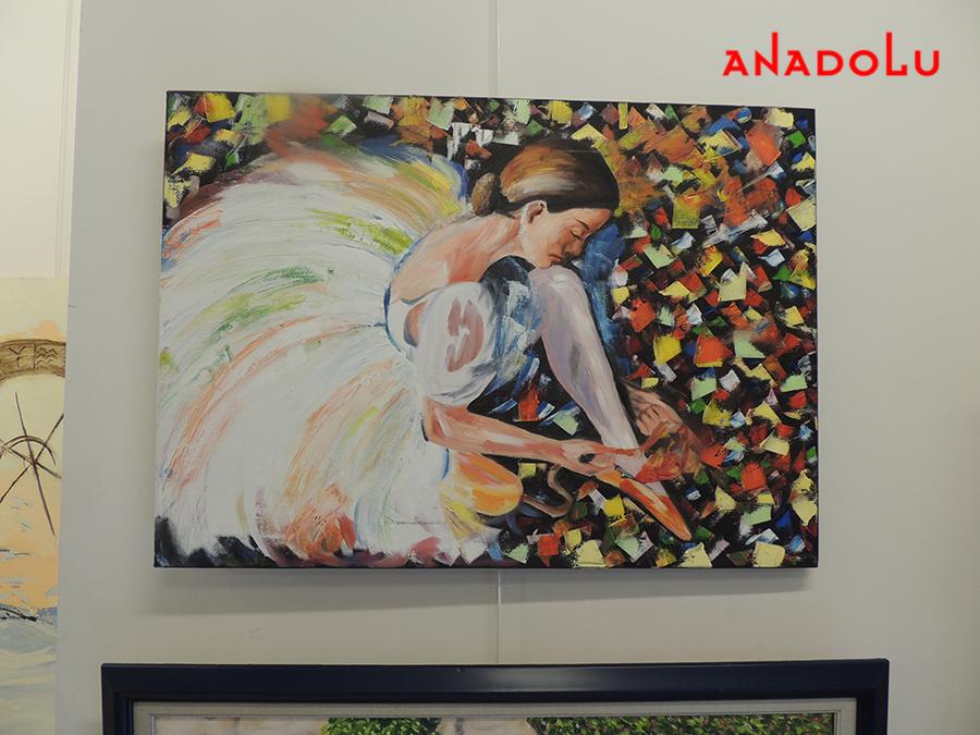 Ankarada Anadolu Güzel Sanatlarda Hobilerin Çalışmaları