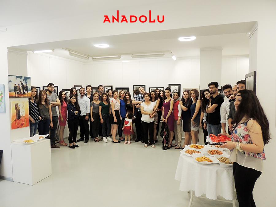 Anadolu Güzel Sanatlarda Sergi Açılışı Ankara