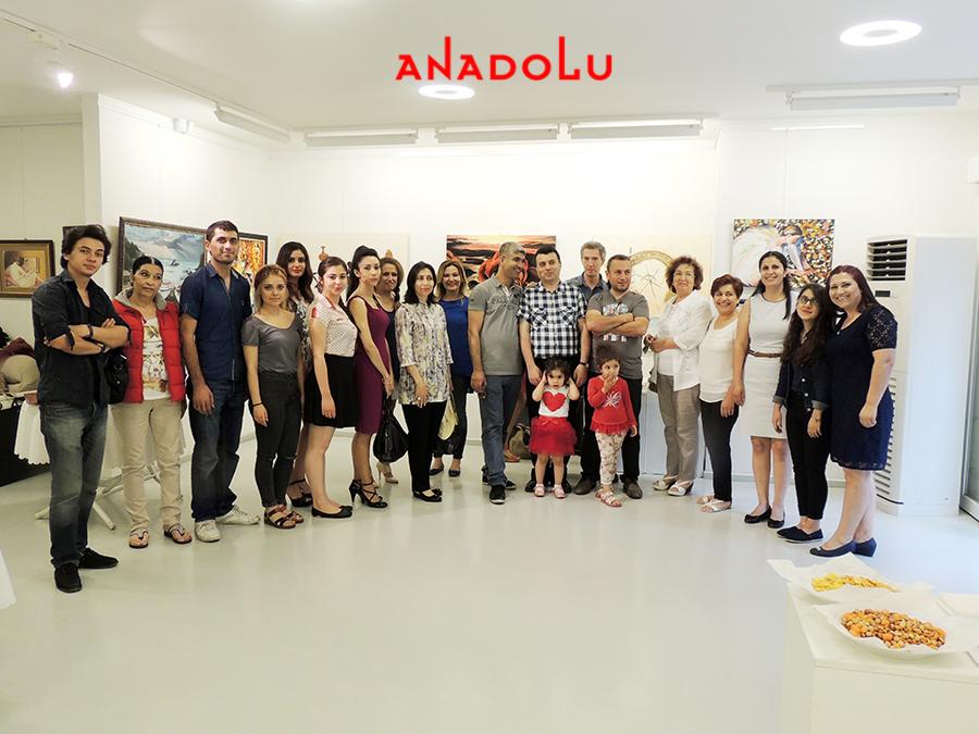 Ankarada Yağlı boya Sergisinde