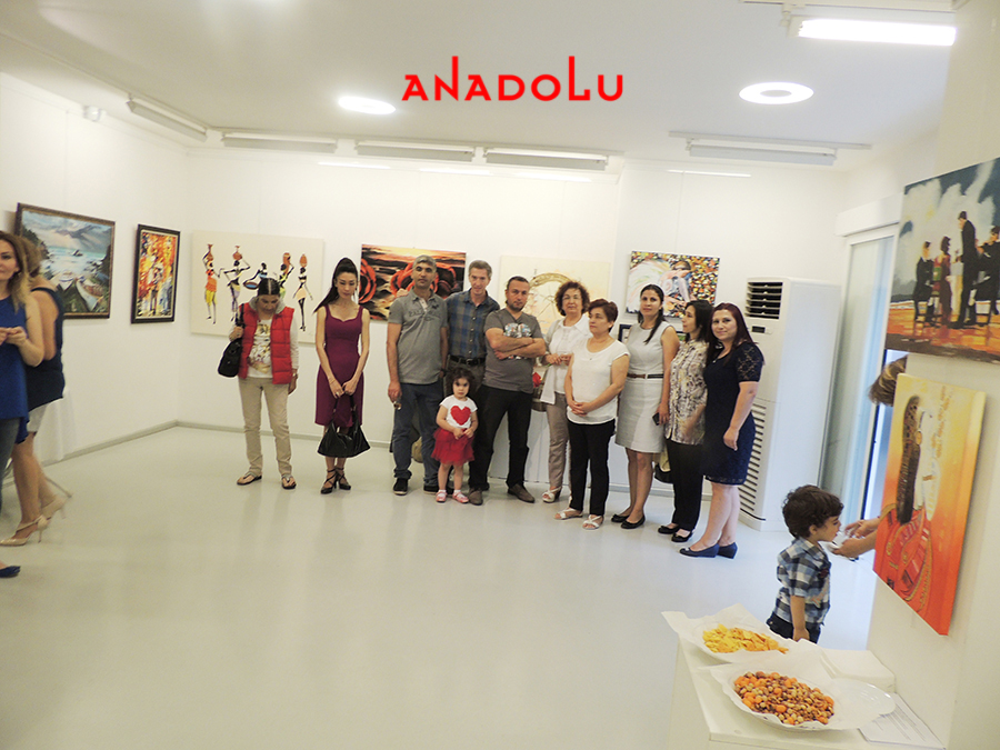 Ankarada Yağlıboya Sergisinde