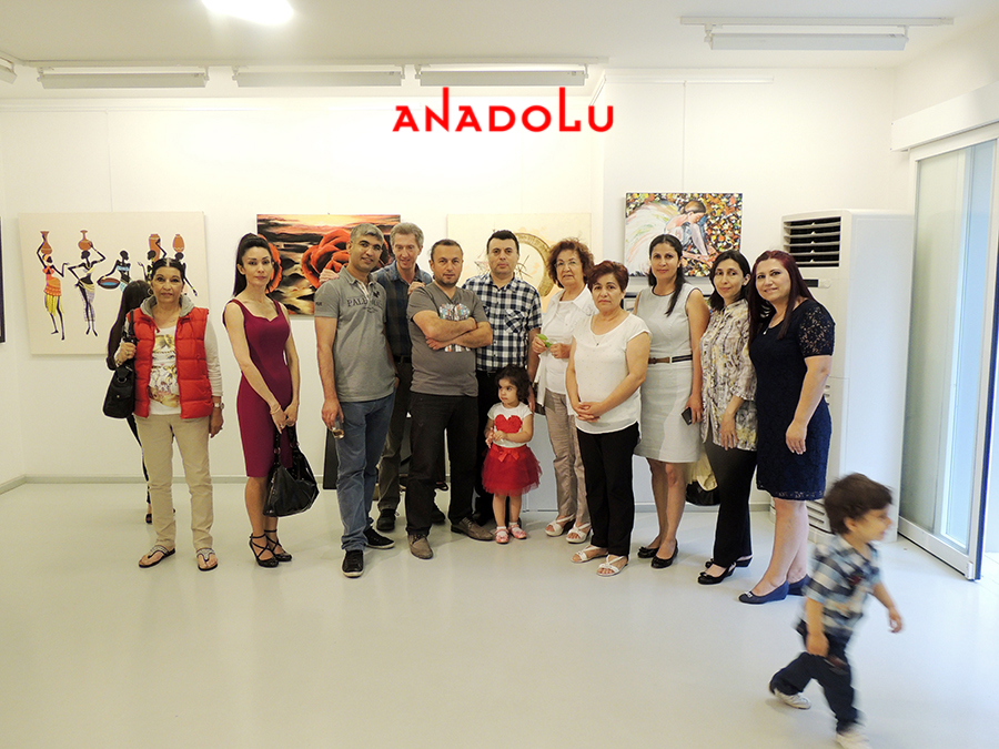 Ankarada Yağlıboya Resim Sergisinde