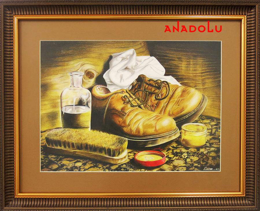 Kuru Boya Çizim Örnekleri Ankara