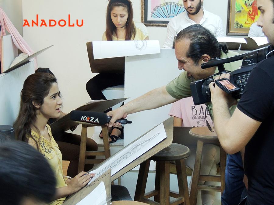 Güzel sanatlar Öğrencileri İle Röportajlar Ankara