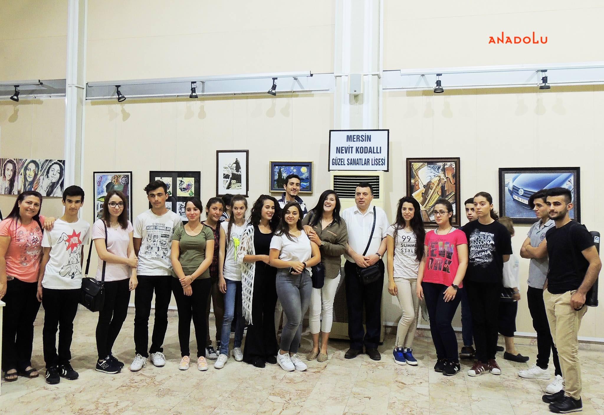 Anadolu Güzel Sanatlar Resim Sergilerden Ankara