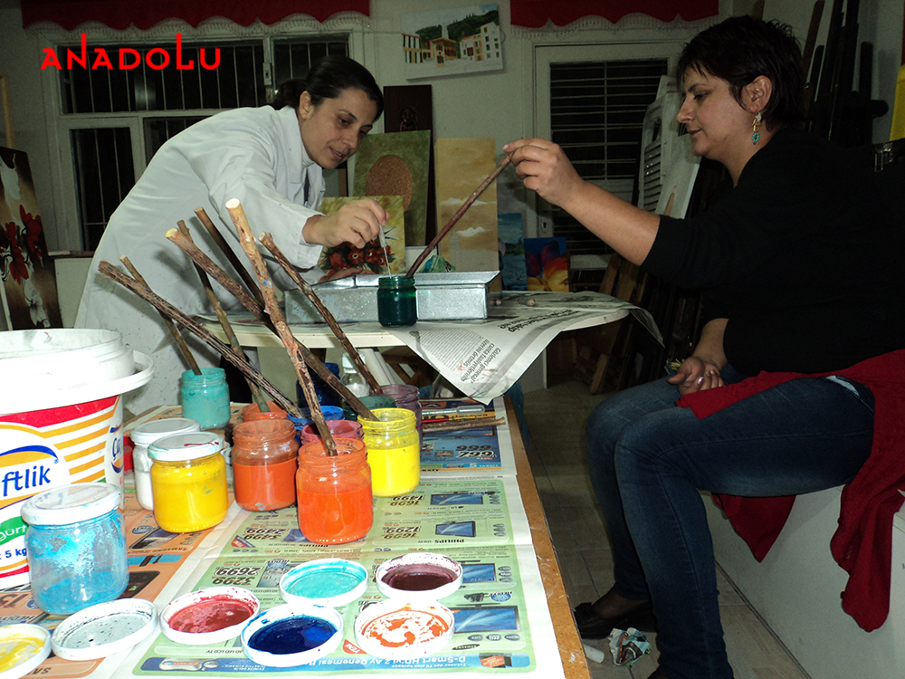 Geleneksel Ebru Kursları Ankara