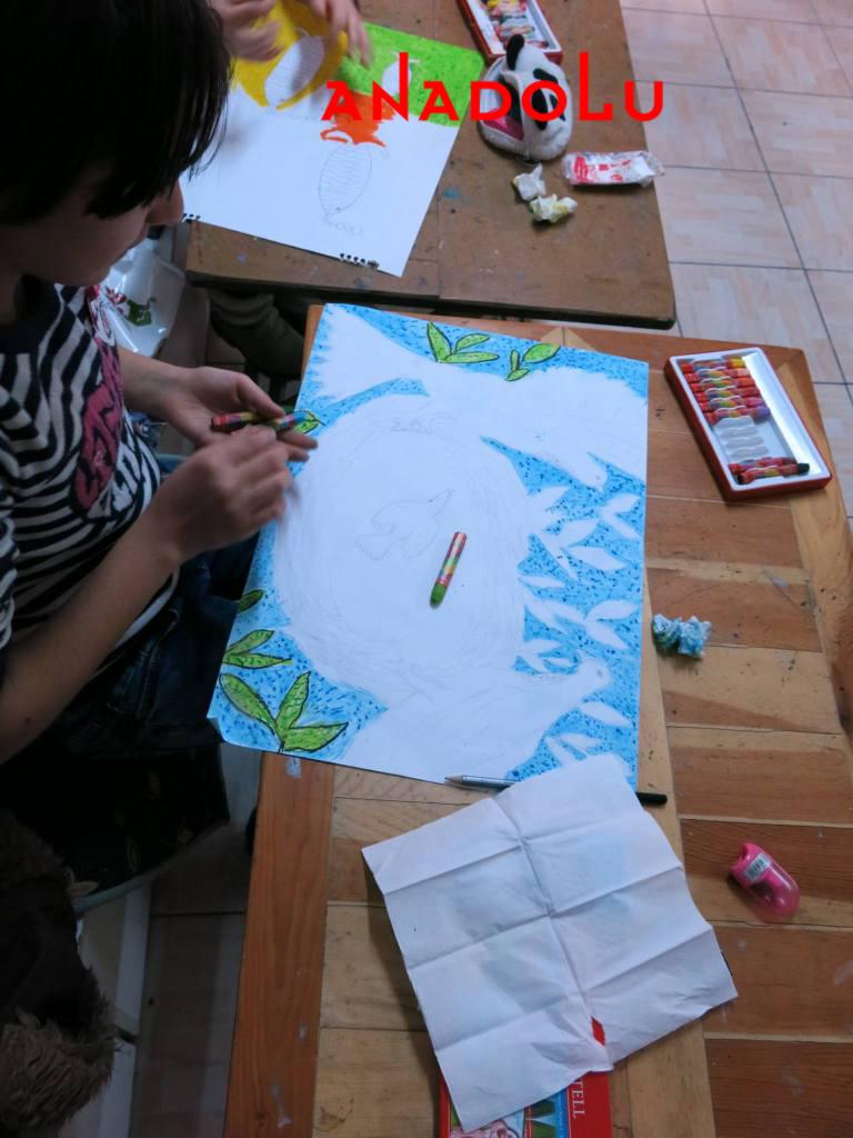 Çocuklara Yönelik Sanat Kursları Devam Ediyor Ankara
