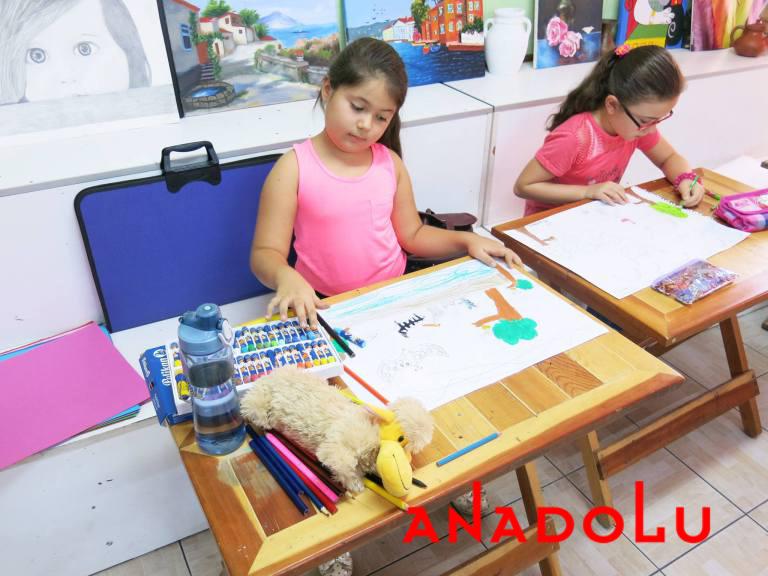 Ankarada Çocuklara Yönelik Pastel Boyama Kursu