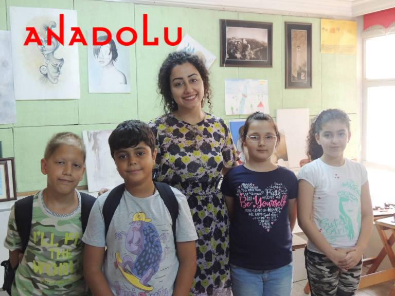 Çocuklara Yönelik Sanat Dersleri İzmir