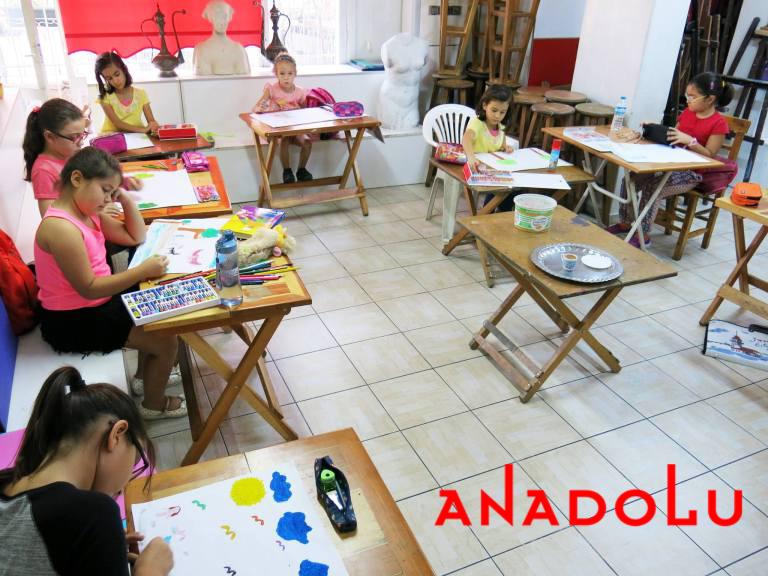 Çocuklar Yönelikler Güzel Sanatlar Kursu Ankara