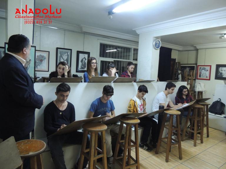 Güzel Sanatlar Fakülteleri İçin Yetenek Kursları Ankara