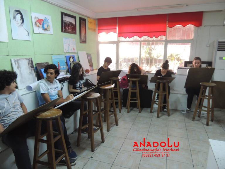 Anadolu Güzel Sanatlar Liselerine Hazırlık Kursları Ankara