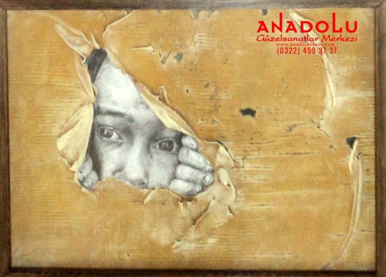 Ankarada Anadolu Güzel Sanatlar Fakülteleri İçin Yetenek Kursları