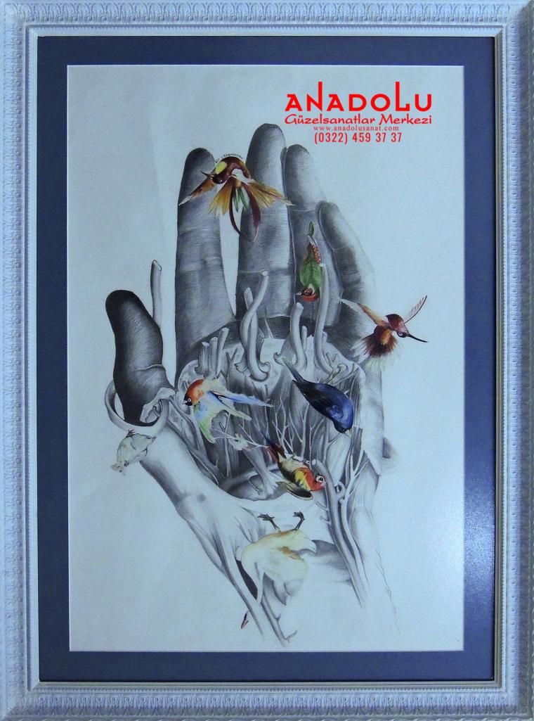 Güzel Sanatlar Fakülteleri İçin Desen Kursları Ankara