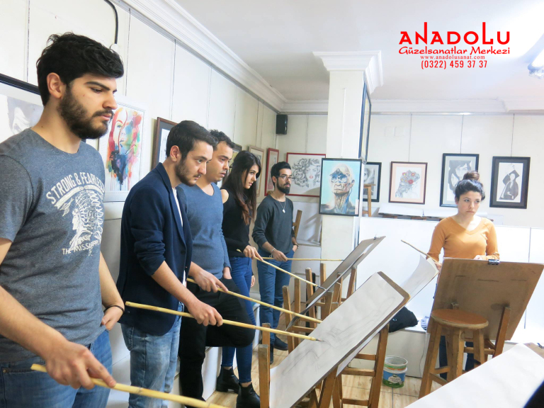 Güzel Sanatlar Fakülteleri İçin Karakalem Kursları Ankara