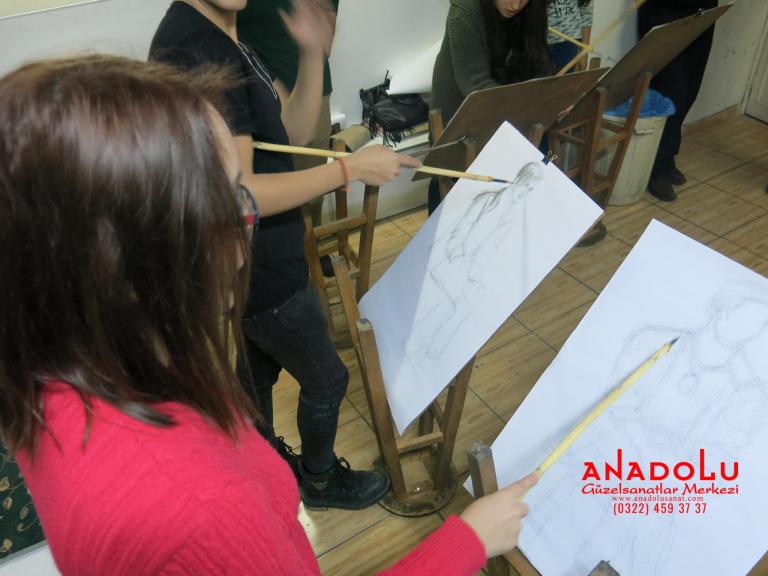 Ankarada Anadolu Güzel Sanatlarda Orjinal Teknik Eğitimleri
