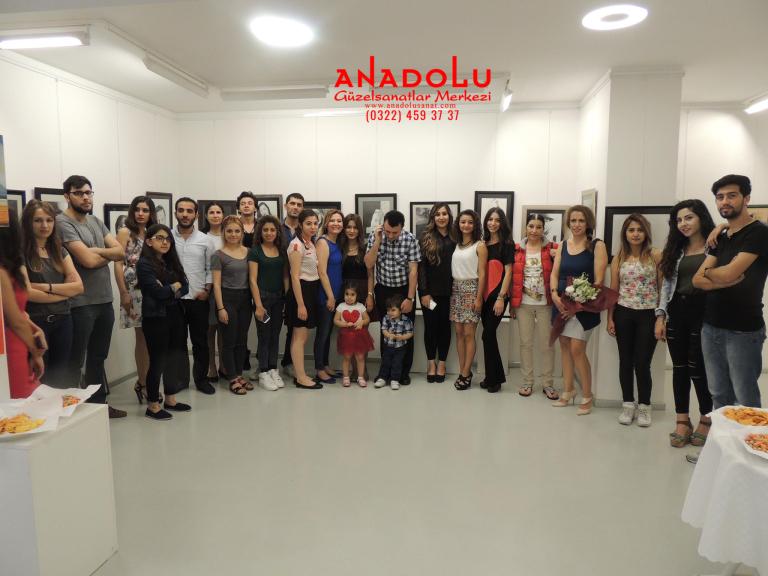 Ankarada Anadolu Güzel Sanatlarda Güzel Sanatları Kazananların Sergileri