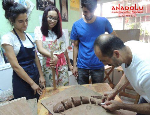Ankaradaki Heykel Sanatı Eğitim Kursları