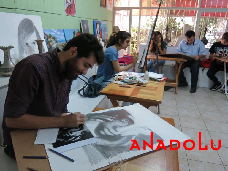 Karakalem Potre Çizimleri Teknik Sınıflar Ankara