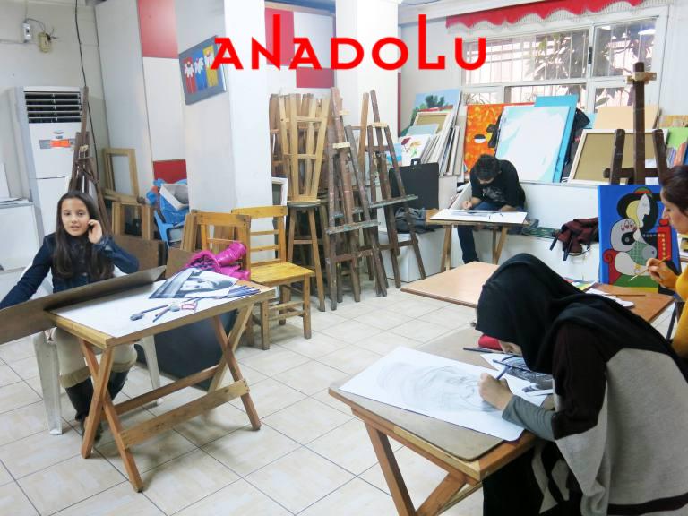 Üniversite Hazırlık Grupları Çizim Dersleri Ankara