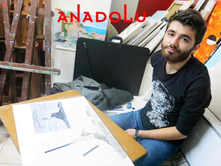 Karakalem Manzara Çizimleri Ankara