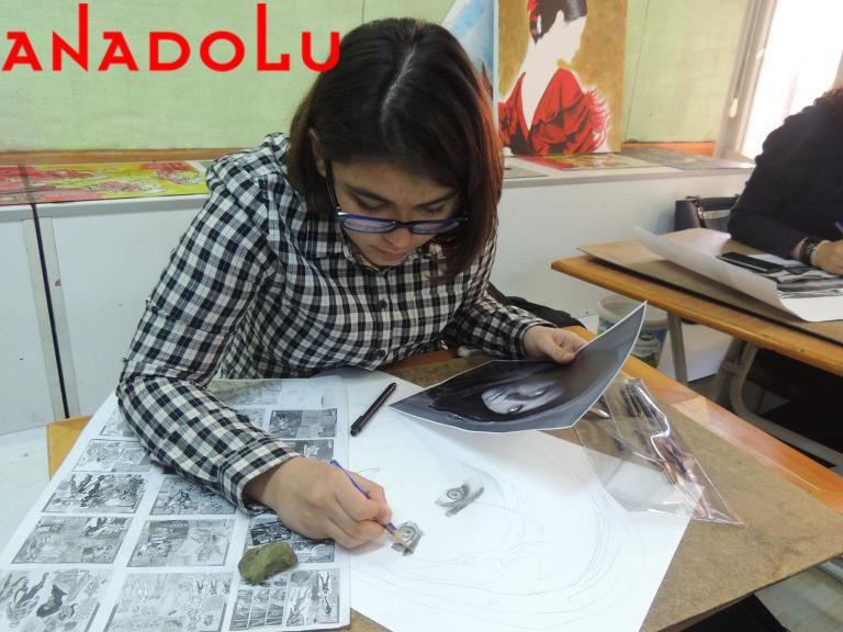 Karakalem Potre Çizim Dersleri Ankara