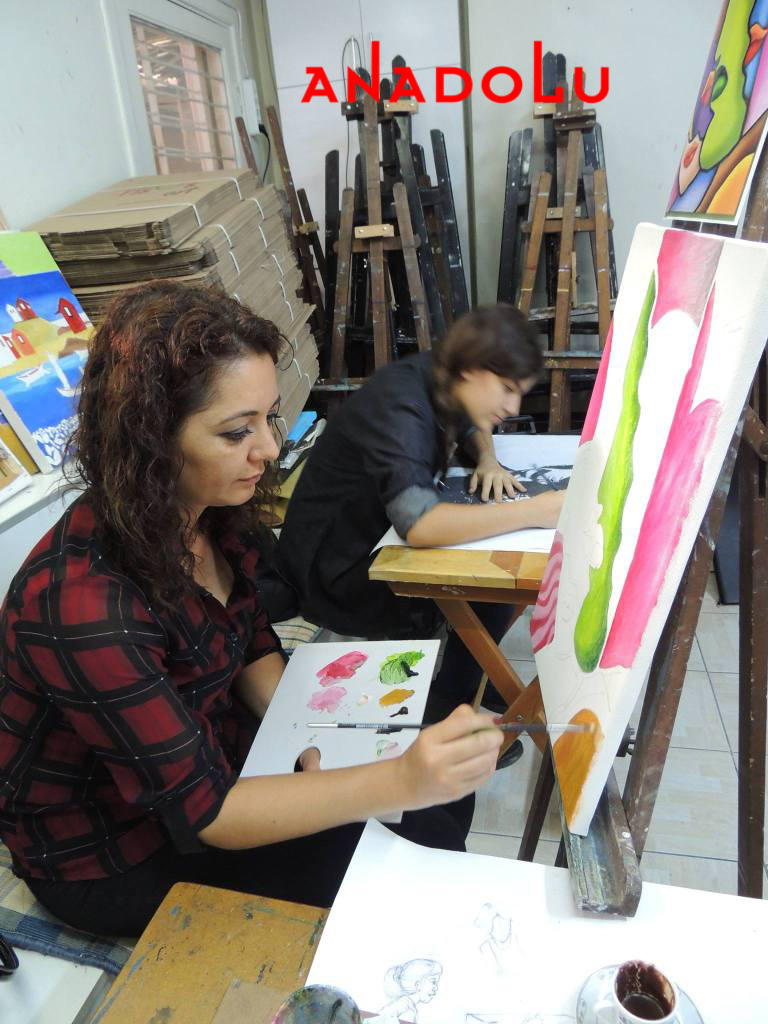 Hobi Grupları Yağlıboya Çizimleri Ankara