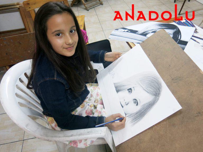 Çocuk Grupları Karakalem Çizim Dersleri Ankara