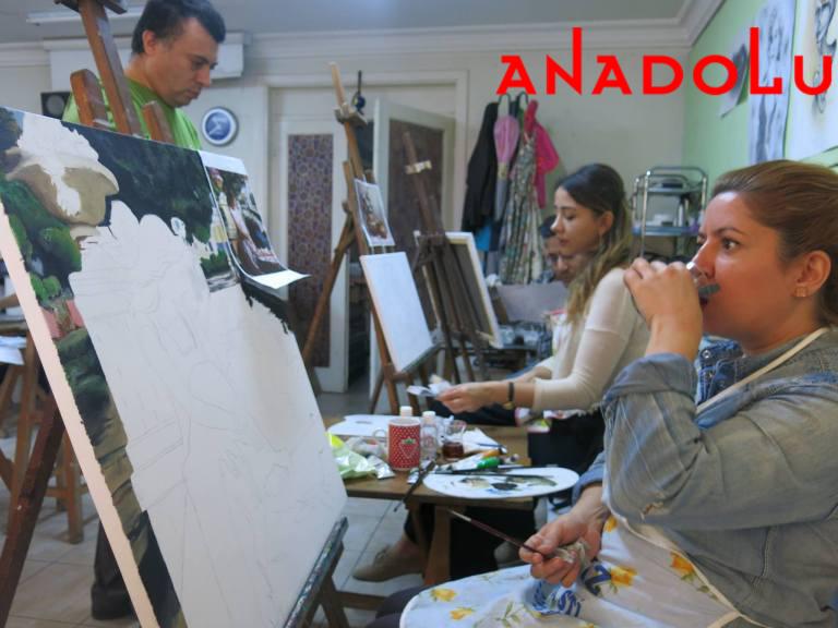 Hobi Grupları Yağlı Boya Dersleri Ankara