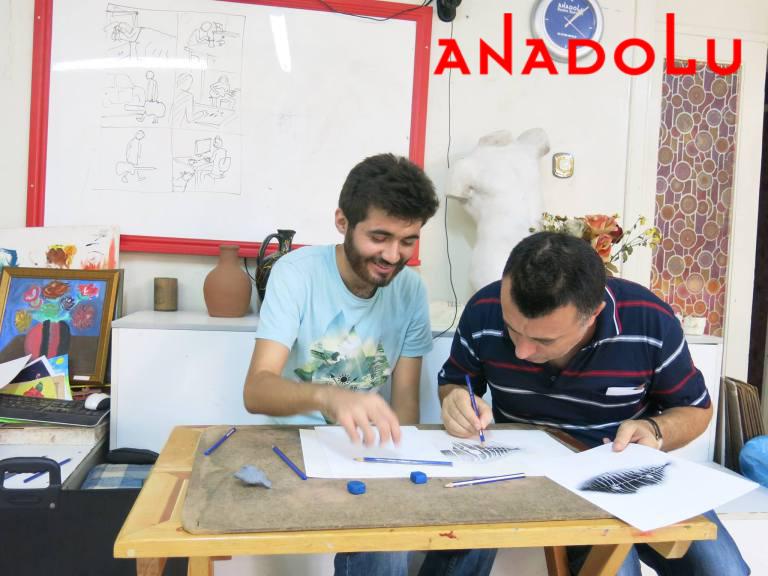 Karakalem Dersleri Potre Çizimi Ankara