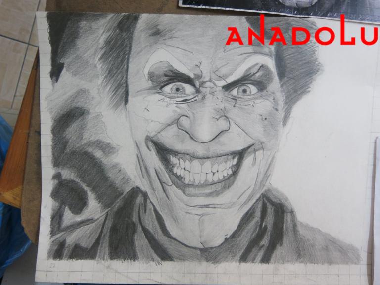Karakalem Joker Çizimleri Ankara