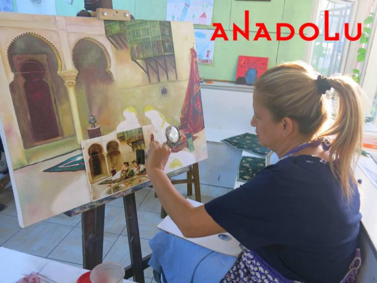 Yağlıboya Manzara Çalışmaları Hobi Grupları Ankara