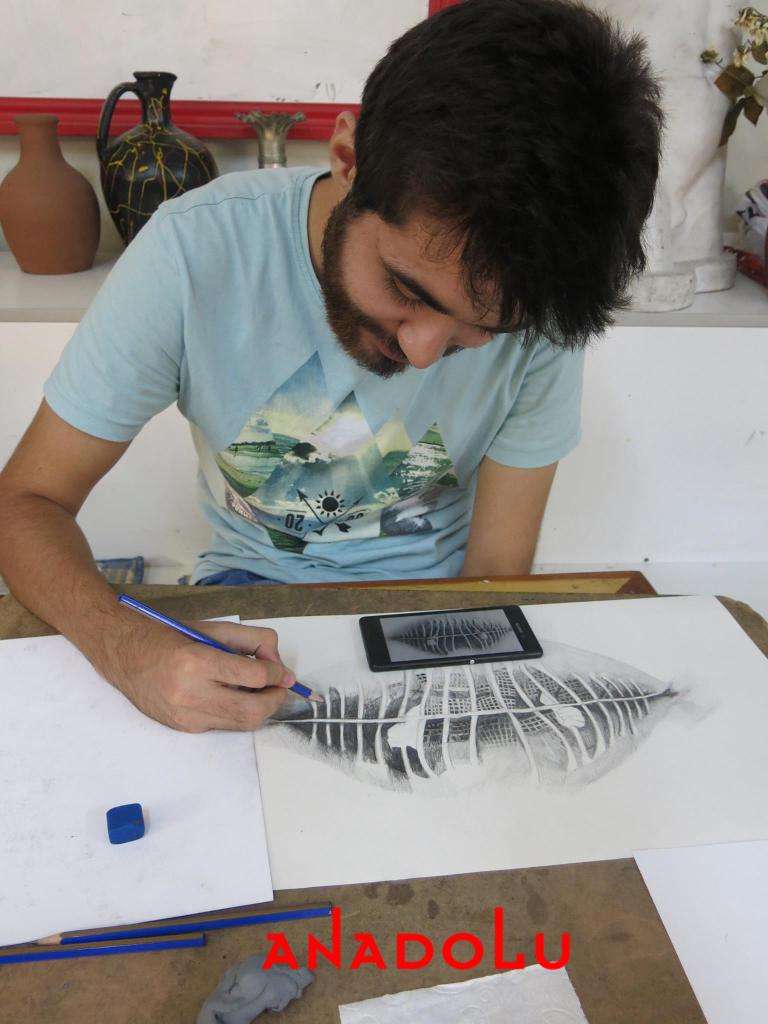 Hobi Grubu Karakalem Çalışmaları Ankara