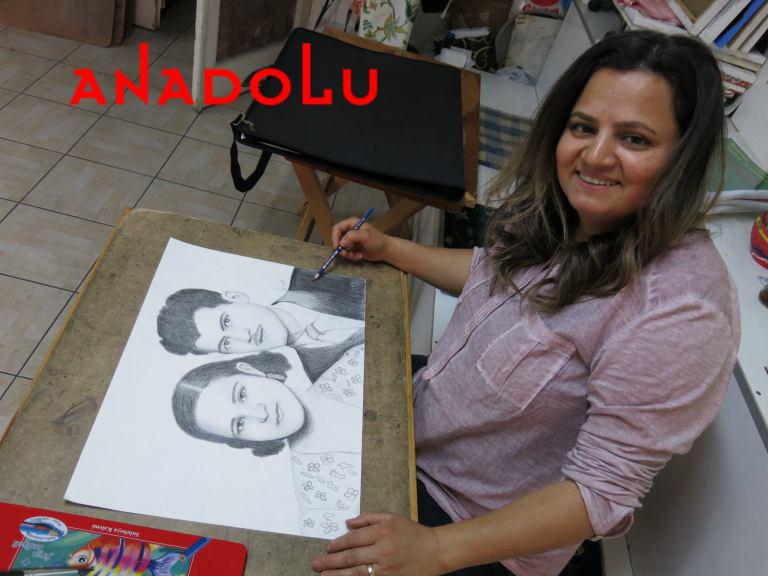 Karakalem Potre Çalışmaları Hobi Grupları Ankara