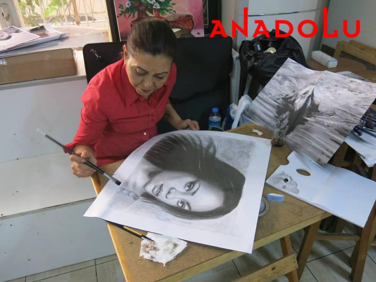 Hobi Dersleri Karakalem Çalışması Ankara