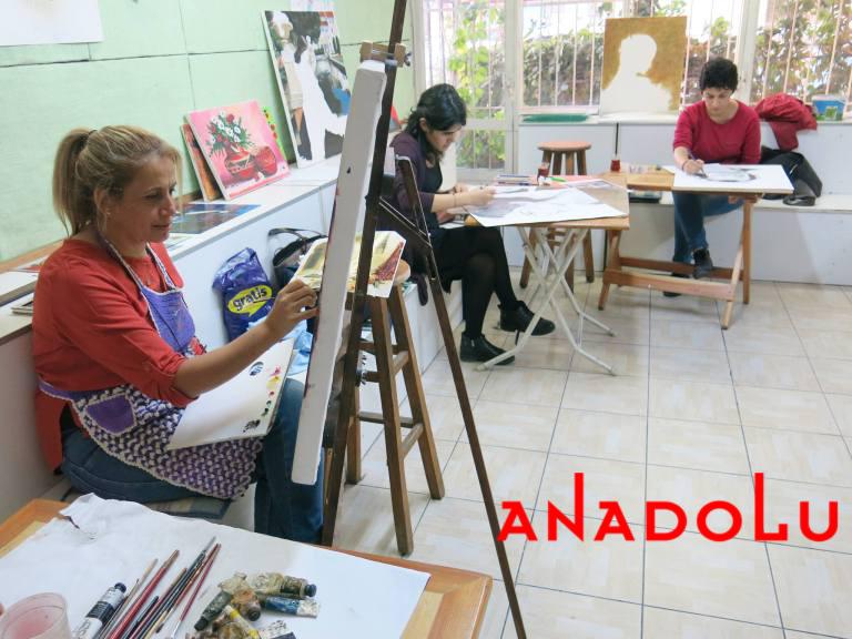 Hobiler İçin Yağlıboya Dersleri Ankara
