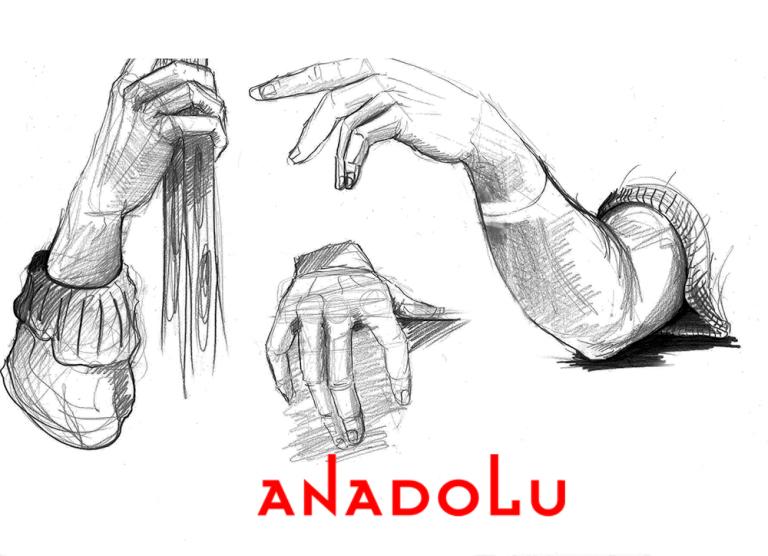 Karakalem El Çizimleri Ankara