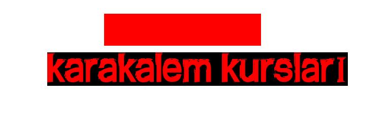 karakalem Kursları Ankara