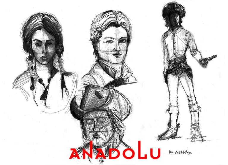Karakalem Portre Çizimleri Ankara